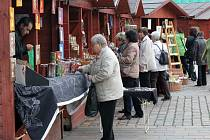 Havelské trhy na náměstí Republiky v Plzni