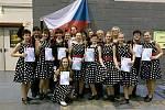 Stepaři plzeňského Step by step studia na Mistrovství světa 2018 v německé Riese