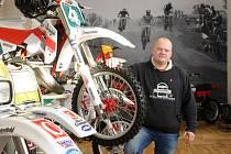 Motocrossové muzeum v Červeném Hrádku