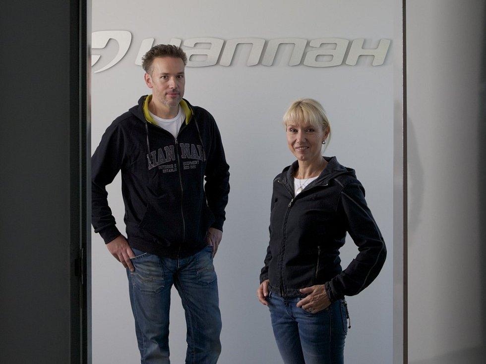 Stanislav Krpejš a Hana Zachariášová vybudovali firmu Hannah, výrobce sportovního a outdoorového oblečení a vybavení