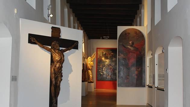 Vznešenost a zbožnost jsou hlavními znaky barokního umění, a tak není divu, že se tato dvě slova objevila v názvu výstavy, která je od podzimu až do 20. března k vidění v Masných krámech