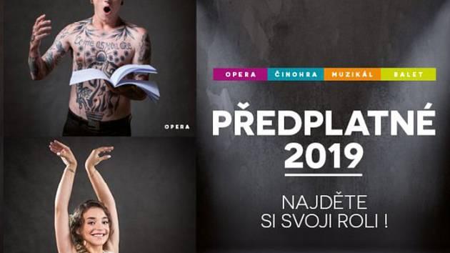 Plakát divadla
