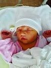 Sofie Husníková se narodila 9. čevna ve 21:10 mamince Radce a tatínkovi Stanislavovi z Přeštic. Po příchodu na svět v plzeňské FN vážila jejich prvorozená dcerka 3750 gramů a měřila 50 centimetrů.