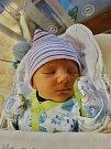 Dominik Gažo se narodil 25. prosince ve 14:40 mamince Pavle a tatínkovi Frantovi zKočin. Po příchodu na svět vplzeňské FN vážil bráška Michala a Markétky 3290 gramů a měřil 50 centimetrů.
