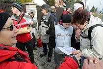 Z Chotěšova do Plzně šlapalo třicet turistů