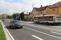 Dlouhá ulice v Plzni.