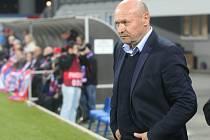 Trenér Miroslav Koubek přivedl Viktorii k zasloužené výhře nad Spartou.