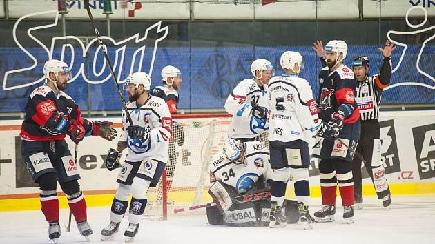 HC Škoda Plzeň vs. Piráti Chomutov.