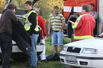 Hasiči v neděli v podvečer vylovili z Radbuzy v Plzni tělo neznámého muže