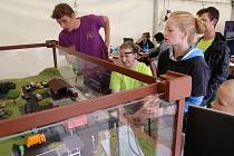 Dny vědy a techniky ZČU na náměstí Republiky v Plzni