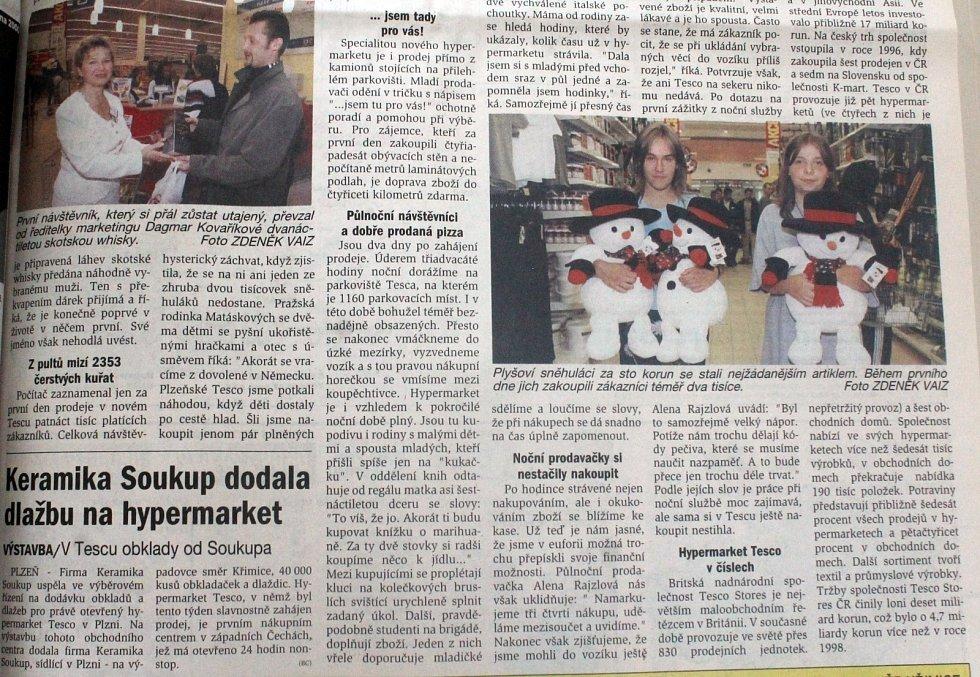 Plzeňský deník, 22. 7. 2000