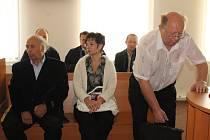Zleva: Pavel Hucl, Marie Šnoblová a Karel Kaiser
