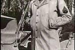Don Knuth z velitelské roty v Plzni, už s nášivkou XXII Corps.