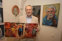Výstava s názvem Autoportréty v Galerii Jiřího Trnky