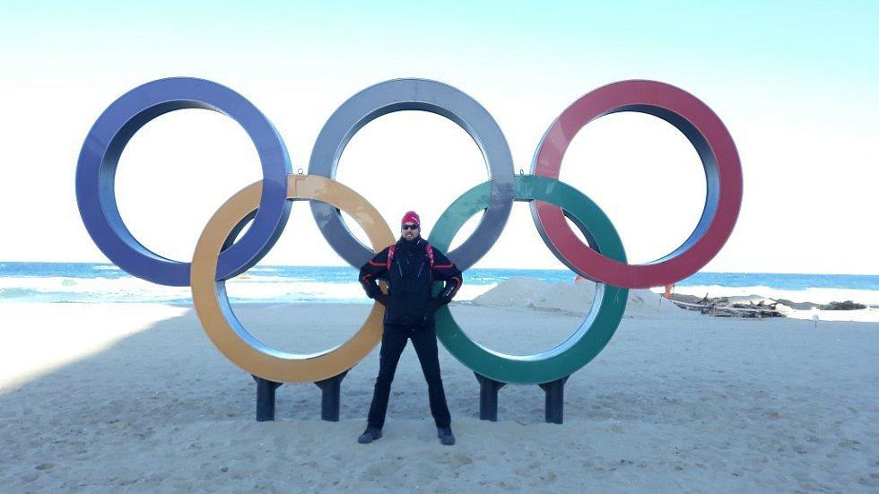 Marek Čech na olympiádě v Pchjongčchangu