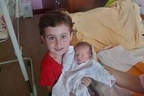 Adriana Doskočilová se narodila 25. července v 11:14 mamince Janě Markové a tatínkovi Stanislavu ve FN. Po příchodu na svět vážila sestra tříletého Adámka 23,, gramů a měřila 46 centimetrů