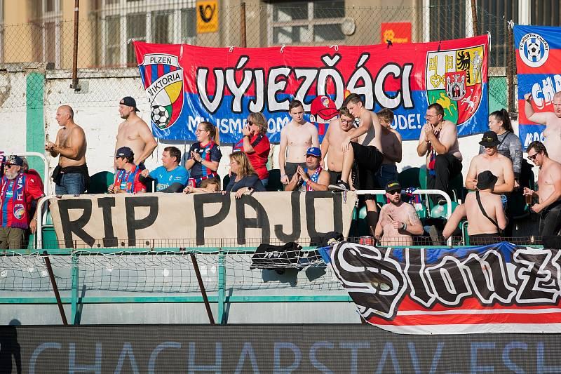 Fanoušci Viktorie Plzeň dlouho čekali na kýžený gól.