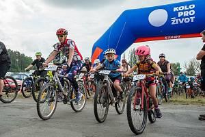 V Plzni na Doubravce v sobotu proběhl cyklistický závod Kolo pro život.