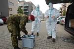 Plzeň - návštěva s volební urnou u kovid pozitivních