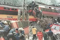 Srážku zavinil strojvedoucí nákladního vlaku.