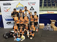 Přípravka FBŠ Plzeň zazářila v konkurenci 25 týmů na turnaji Nisaopen 2018 v Liberci.