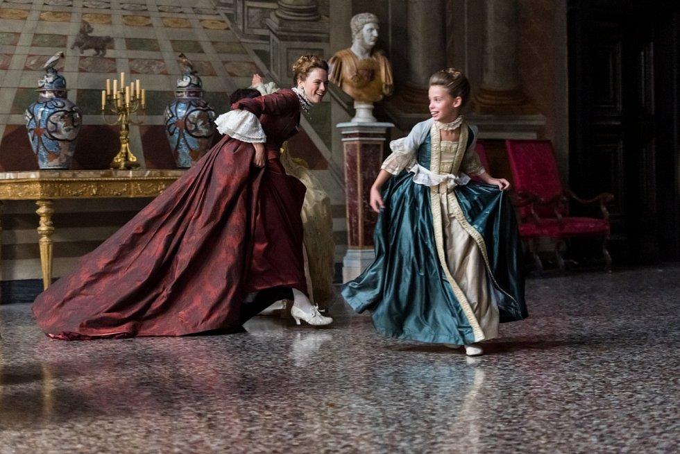 Z natáčení filmu Il Boemov Itálii.