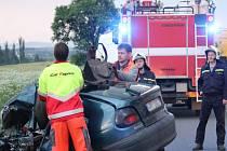 Tragická nehoda se odehrála na silnici mezi Nýřany a Heřmanovou Hutí.