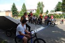 Otevření bikeparku v Blovicích