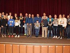 Ti nejlepší sportovci města Kralovice odešli z předávání cen za rok 2017 s hodnotnými trofejemi.