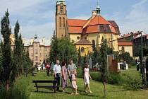 Den otevřených zahrad v Plzni v klášterní zahradě na Jiráskově náměstí