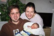 Josef Žaloudek se narodil 15. listopadu v 17:40 mamince Zdeňce a tatínkovi Tomášovi ze Žákavé. Po příchodu na svět v rokycanské porodnici vážil jejich prvorozený syn 3500 gramů a měřil 49 cm