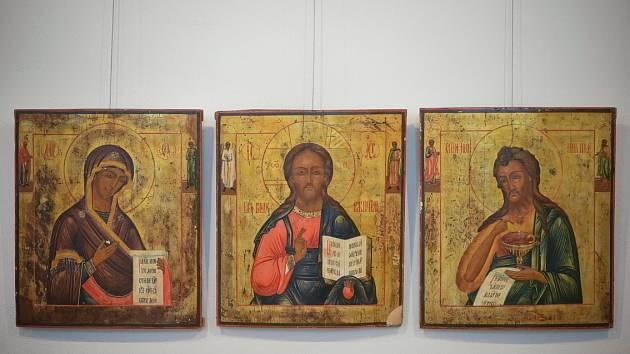 V Muzeu církevního umění v Plzni se koná výstava Ikony - Okna do nebe.