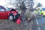 Dopravní nehoda u Čemin.