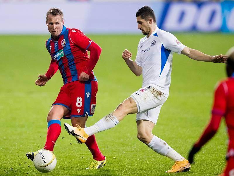 David Limberský v poslední ligové sezoně proti Liberci.