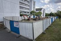 Rekonstrukce v areálu ZČU.