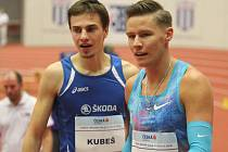 Jiří Kubeš (vlevo).