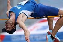 Výškař Škody Plzeň Josef Adámek, který startoval na mistrovství Evropy do 22 let, skončil na republikovém šampionátu na solidním druhém místě.
