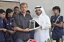 Jiří Krbeček v Saudské Arábii.
