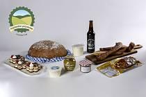 Letošní oceněné výrobky v Plzeňském kraji. Všechny se mohou pyšnit titulem Regionální potravina.