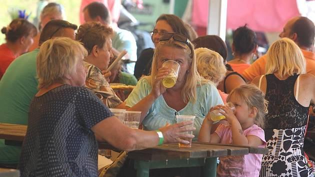 Pivní slavnosti a anenská pouť v Nečtinech