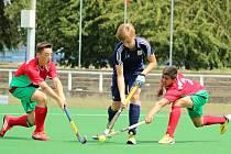 Litický útočník Ondřej Sochor (uprostřed) zářil na evropském šampionátu hráčů do 16 let. Ke stříbrné medaili pomohl národnímu týmu dvanácti góly.
