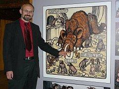 V nově zrekonstruovaném Špejcharu ve Spáleném Poříčí je umístěna stálá expozice z historie a života Brd a rozsáhlá výstava kresleného humoru Jiřího Wintera Neprakty. Starosta Spáleného Poříčí Pavel čížek nás provedl expozicí.