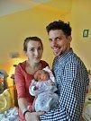 Josefína Nováková se narodila 29. listopadu ve 13:38 mamince Janě a tatínkovi Jaroslavovi. Po příchodu na svět v plzeňské porodnici U Mulačů vážila jejich prvorozená dcerka 3450 gramů.