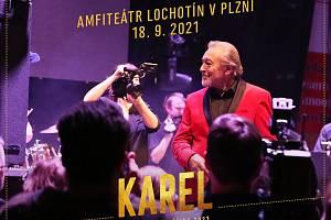 Předpremiéra snímku Karel.