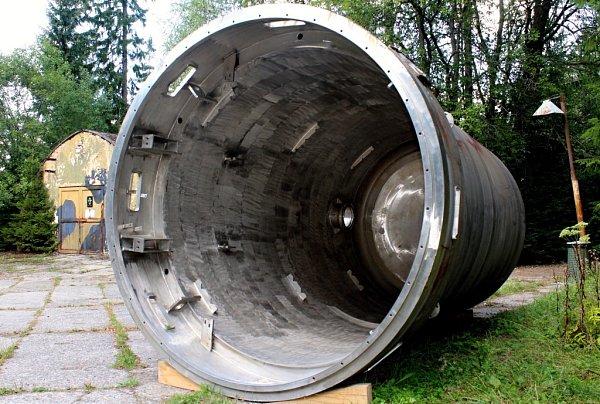 Reaktor vmuzeu vBrdech.