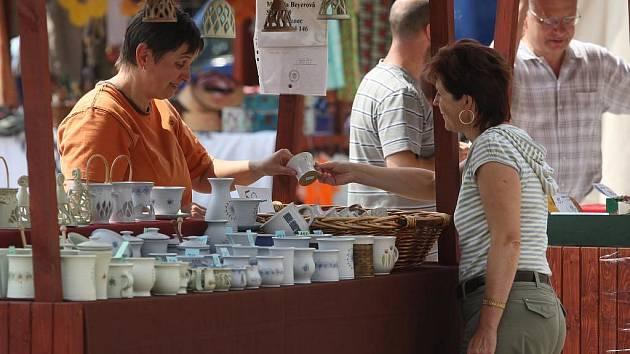 Bartolomějské trhy na náměstí Republiky
