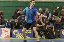 Badmintonista Jan Louda.