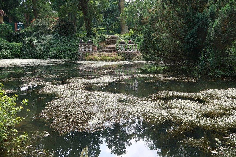 Luftova zahrada v Plzni.