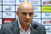FC Viktoria Plzeň, z tiskové konference nového trenéra.