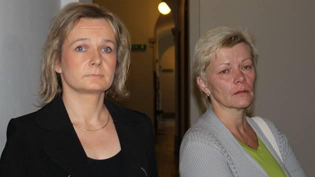 Zleva: Jana Mikulová a Iveta Kadlecová